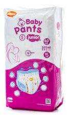 Трусики HONEST GOODS Baby Pant Junior №5 (12-17 кг), 520мл, 40шт.