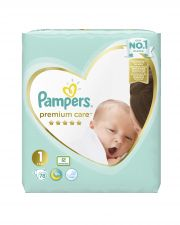 Подгузники Pampers Premium Care №1 (2-5кг) 78шт.