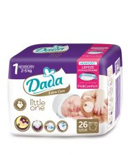 Подгузники Dada Extra Care Little One №1 (2-5 кг) 26шт.